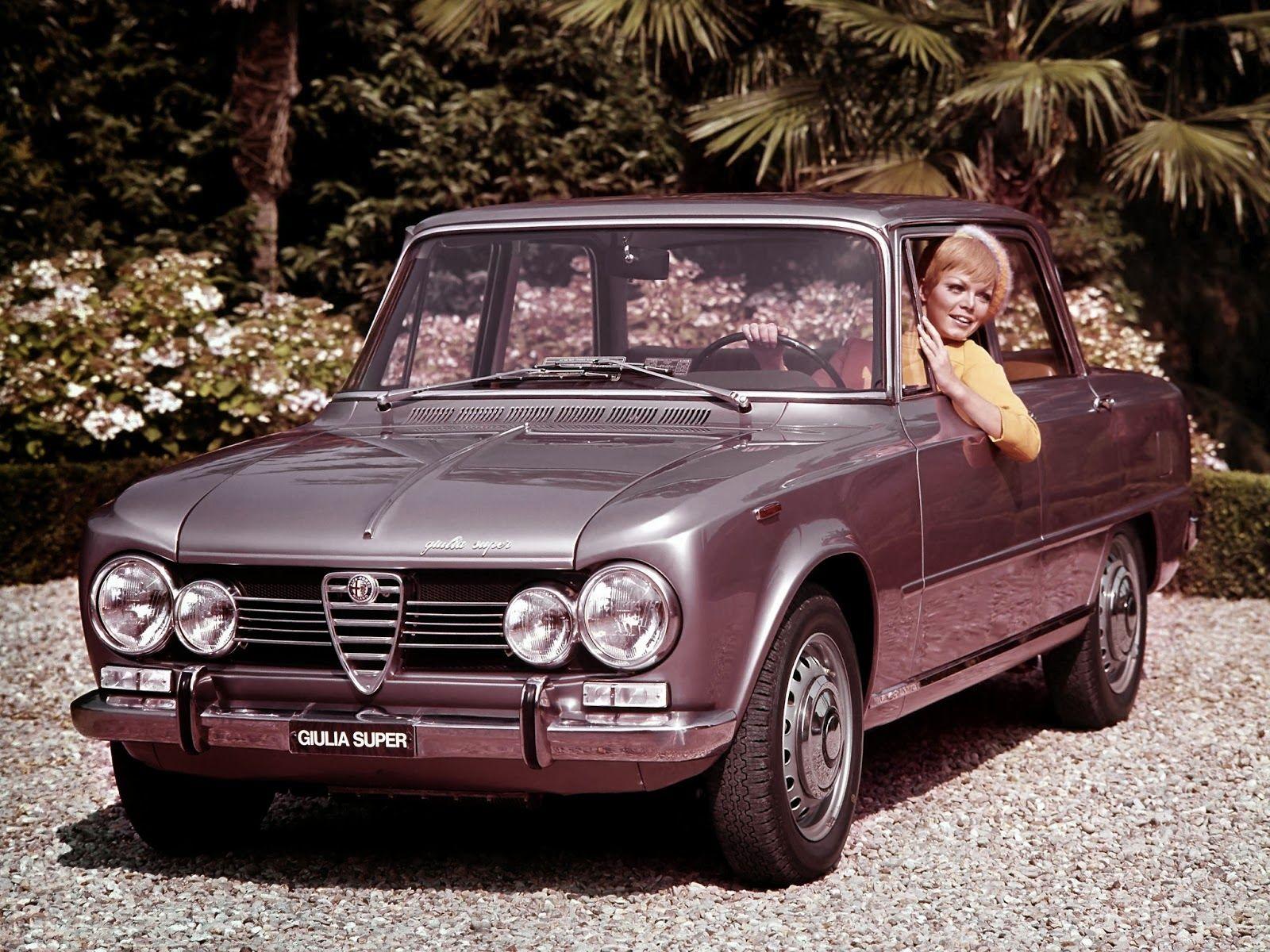 STORMWHEELS: Alfa Romeo - La GIulia Super e la bionda - The Giu...