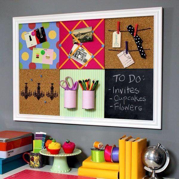 Tableros de corcho | decoracion oficina | Pinterest
