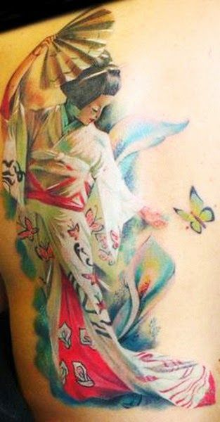 Another Geisha Tattoos for You