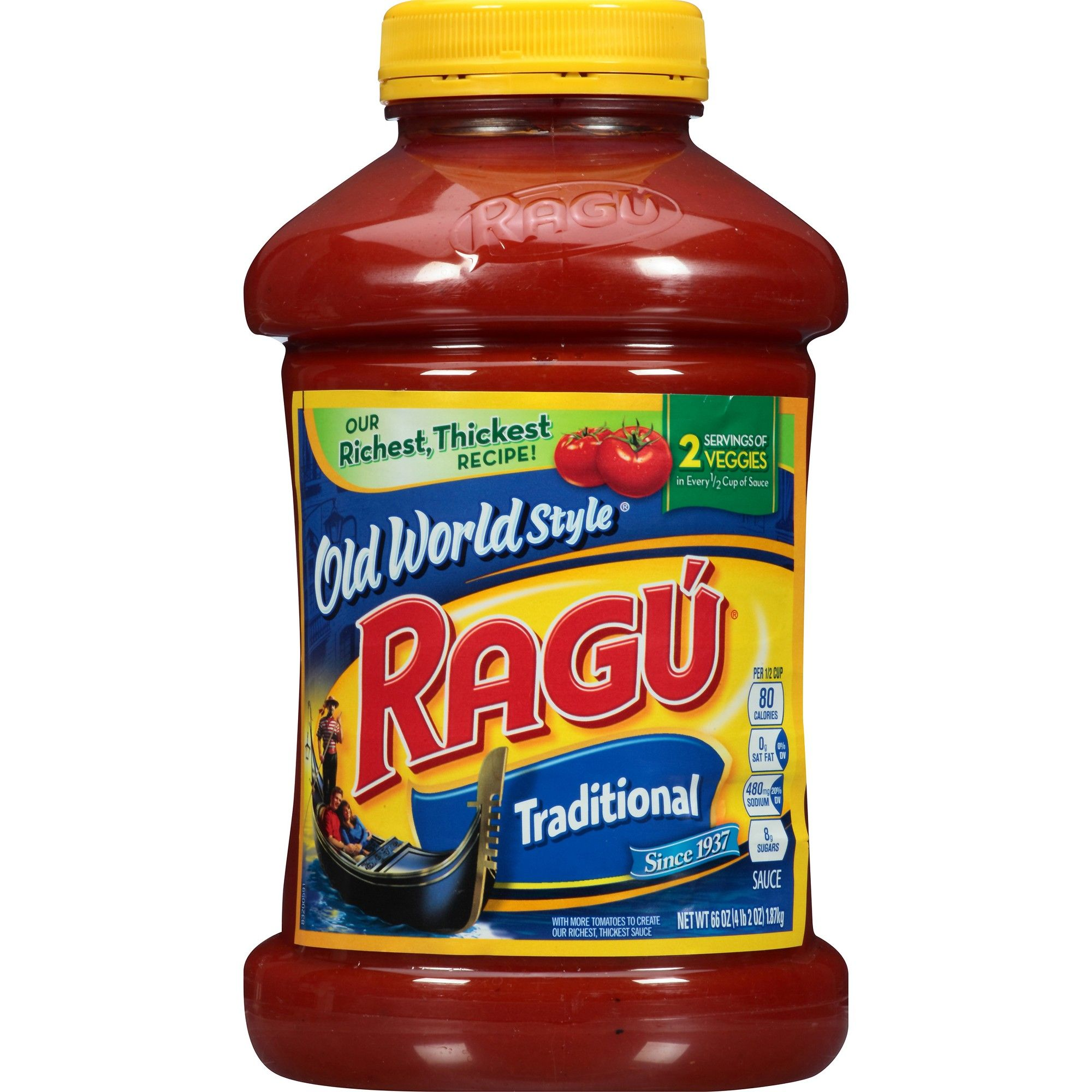 Ragu Old World Style Traditional Pasta Sauce 66oz Pasta Sauce Grocery Foods Ragu