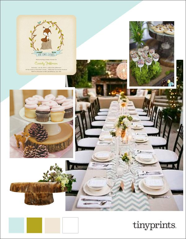 See This Cute And Cuddly Baby Shower Party Inspiration Board On The Tiny  Prints Blog.