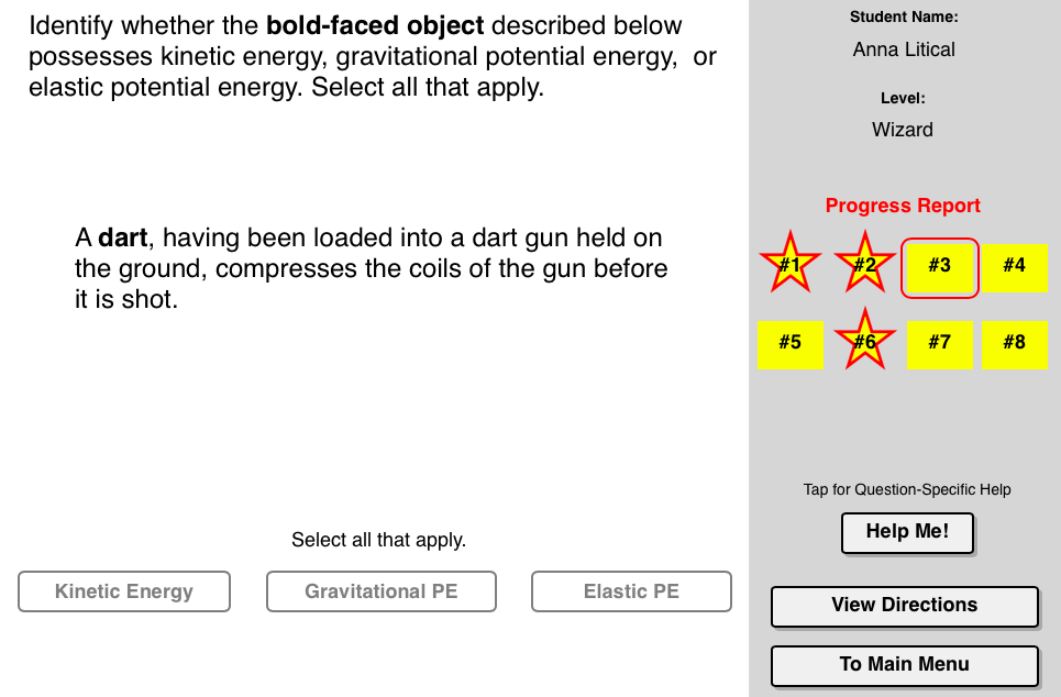 Name That Energy Concept Builder This Interactive Exercise Challenges Students To Identify The Form Energy Science Lessons Energy Quotes Work Energy And Power