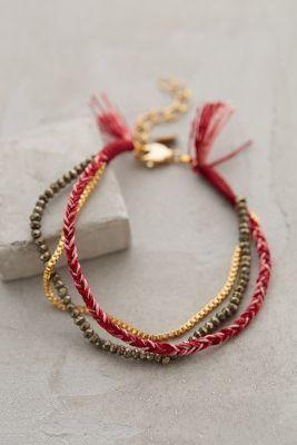 Shashi Three Sisters Bracelet  #anthrofave #anthropologie