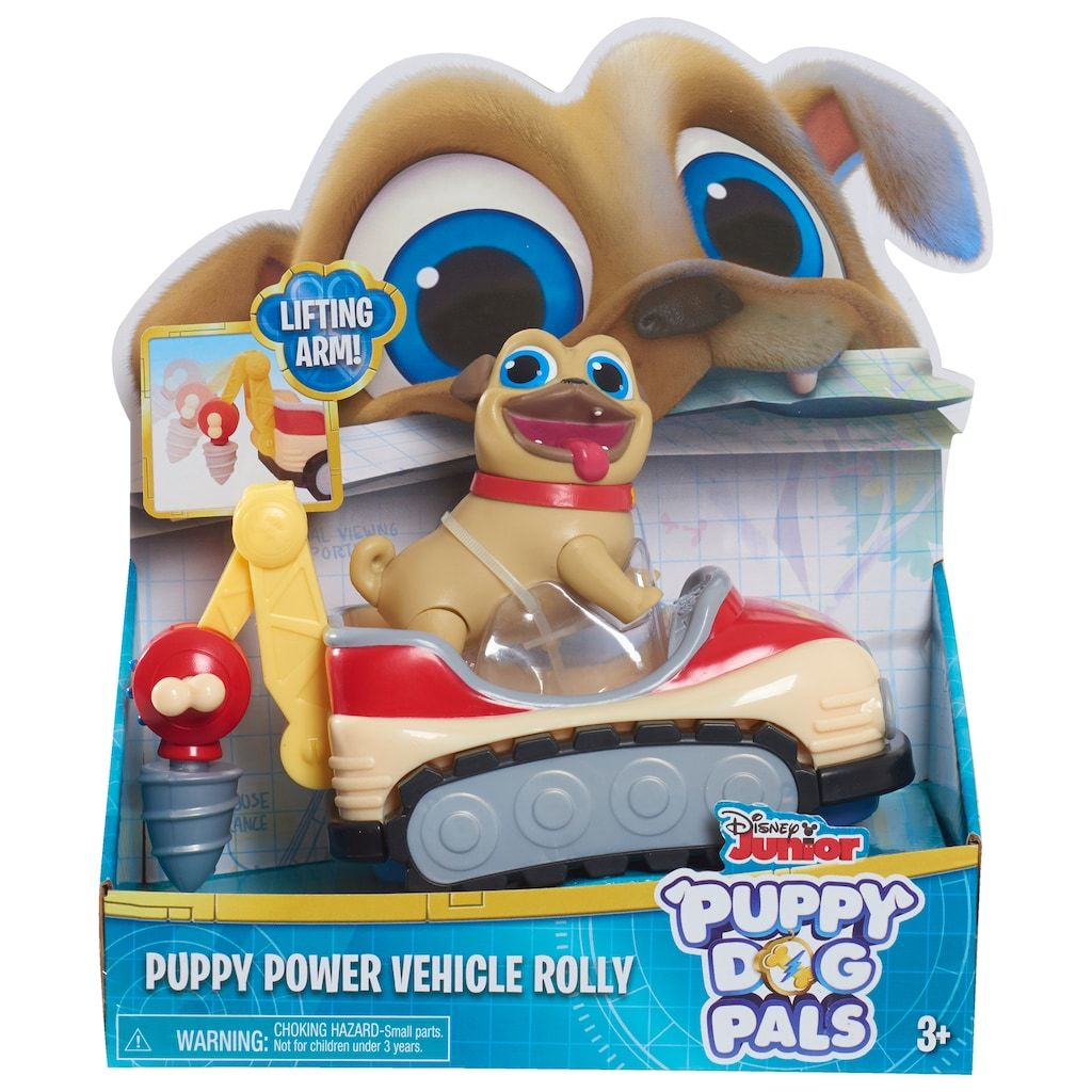 Puppy Dog Pals Puppy Power Vehicle Rolly Dogs Puppies