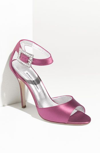 6c40fb686c7 Manolo Blahnik Satin Sandal  do you think I d look out of place wearing  these to the Cody