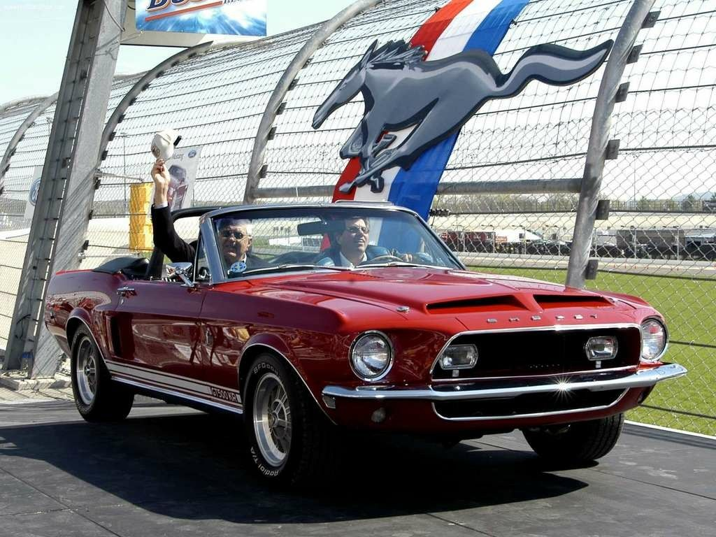 1968 Ford Mustang Shelby GT-500 KR Convertible | Shelby | Pinterest ...