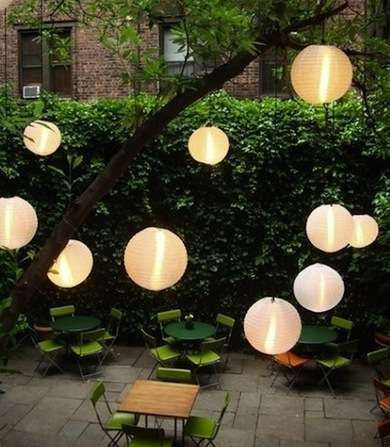 Japanese Lanterns Lighting Is Also About Creating A Mood