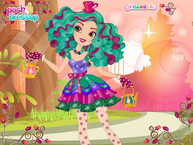 """The Mad Hatter's """"Daughter"""" Madeline XD"""