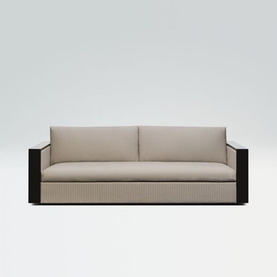 Raphael sofa produced by Armani Casa