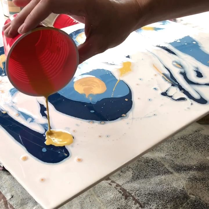 Photo of Fun & Easy DIY Acrylic Pour Tutorial – Abbotts At Home