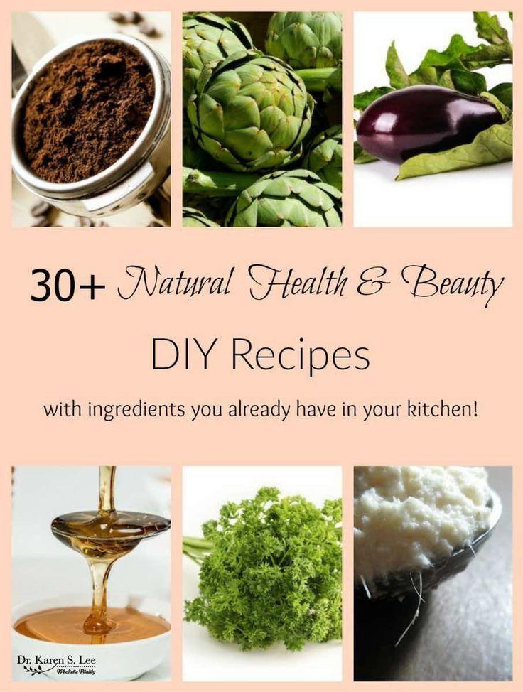 Natural health care diy beauty