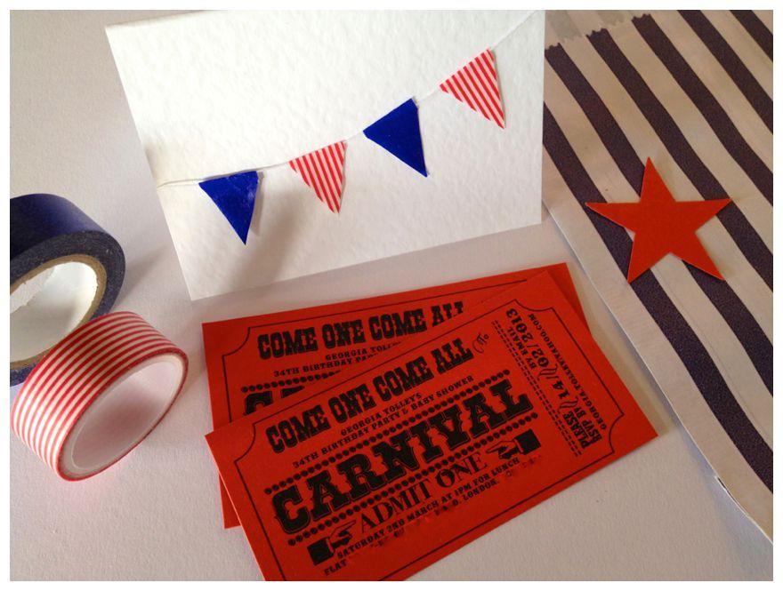 d i y carnival wedding invitations circus wedding ideas free