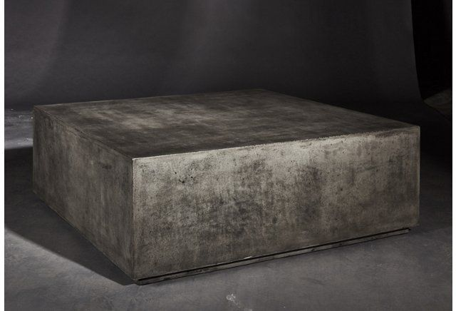 Bloc 40 Coffee Table Dark Gray Coffee And Side Tables