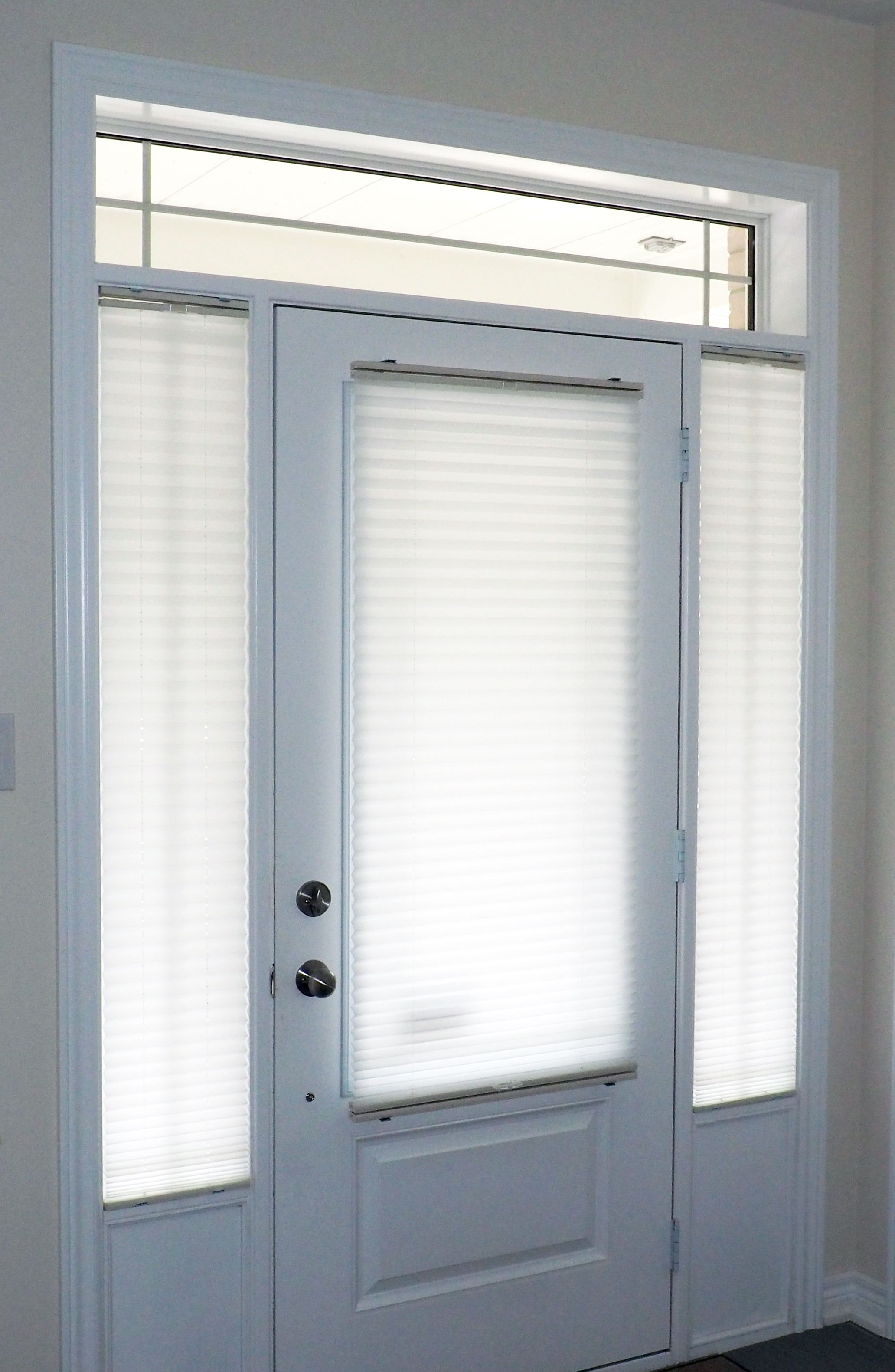 Pleated shades are an economical yet highly functional window ...