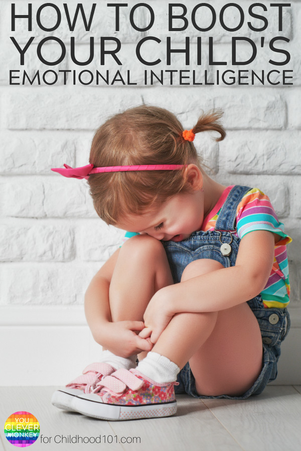 Feelings and Emotions: 4 Practicals Ways Parents & Teachers Can Boost A Child's Emotional Intelligence #emotionalintelligence #emotionalawareness #feelings #teaching