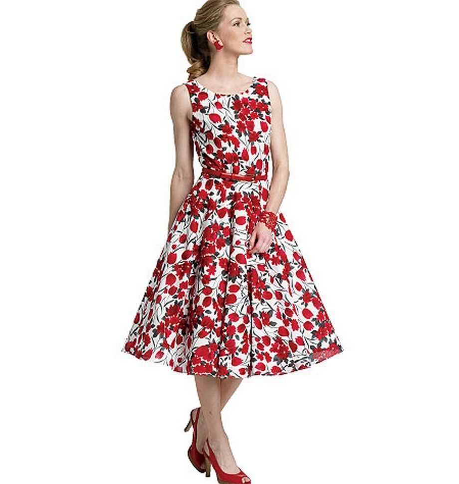 Butterick B5748, Retro Dress