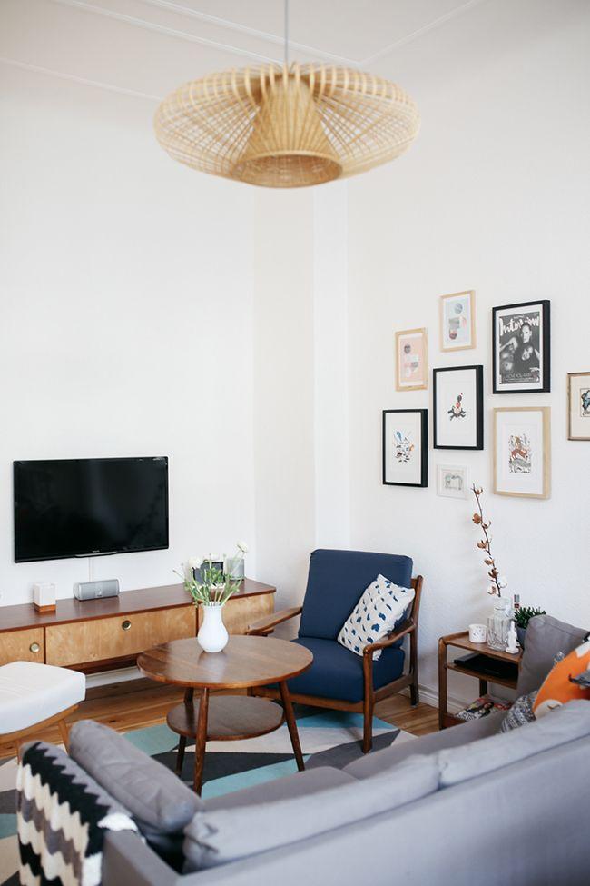 EL PISO DE LA SEMANA Como decorar con paredes con gotelé! Déco