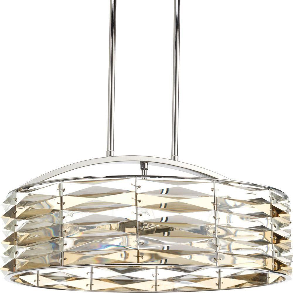 Progress lighting the pointe collection light polished chrome