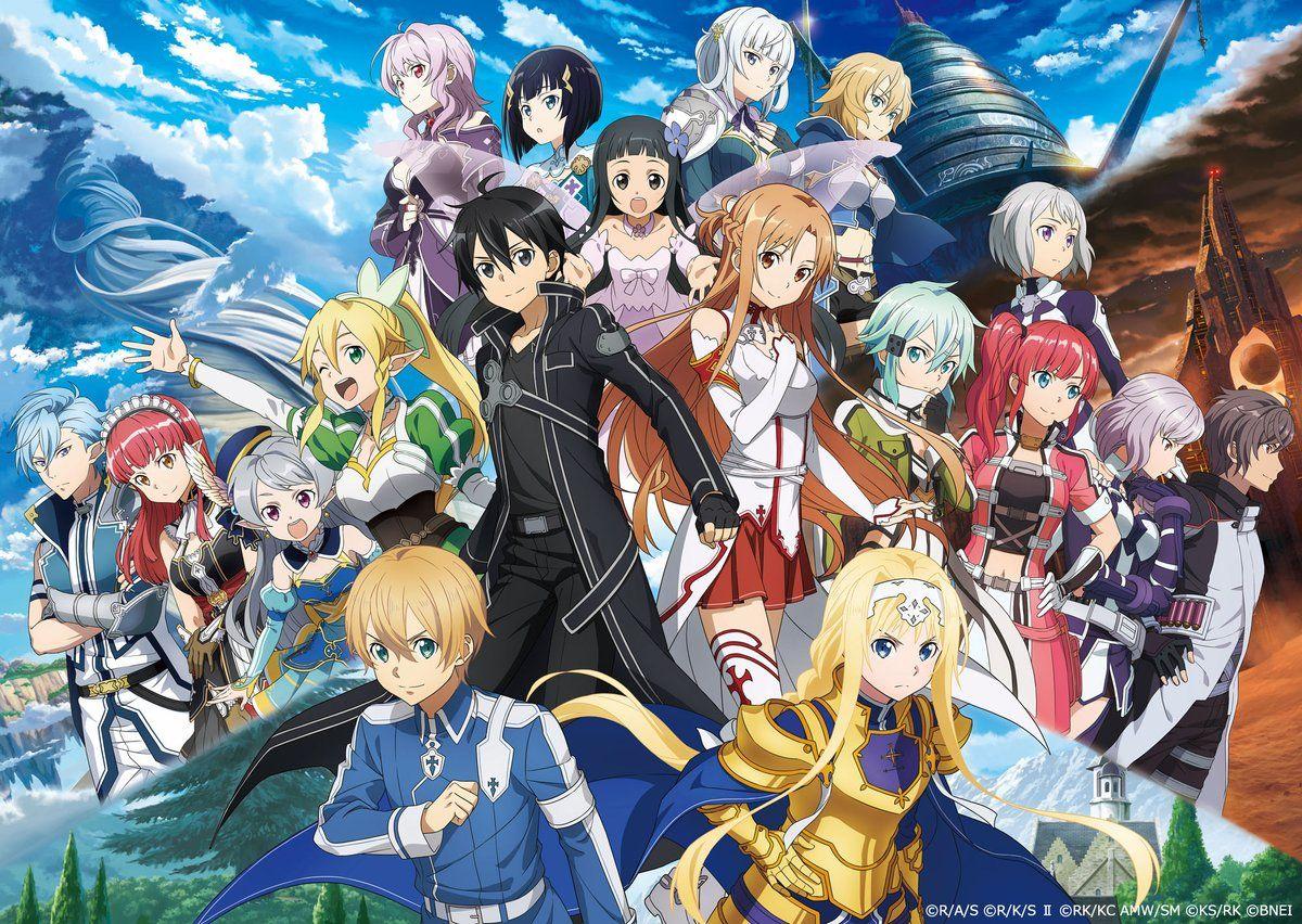 sword art online Twitter Sword art online wallpaper