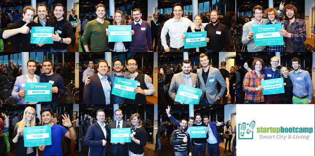 Elf startups geselecteerd voor Startupbootcamp Smart City & Living '15 - http://visionandrobotics.nl/2015/03/09/elf-startups-geselecteerd-voor-startupbootcamp-smart-city-living-15/