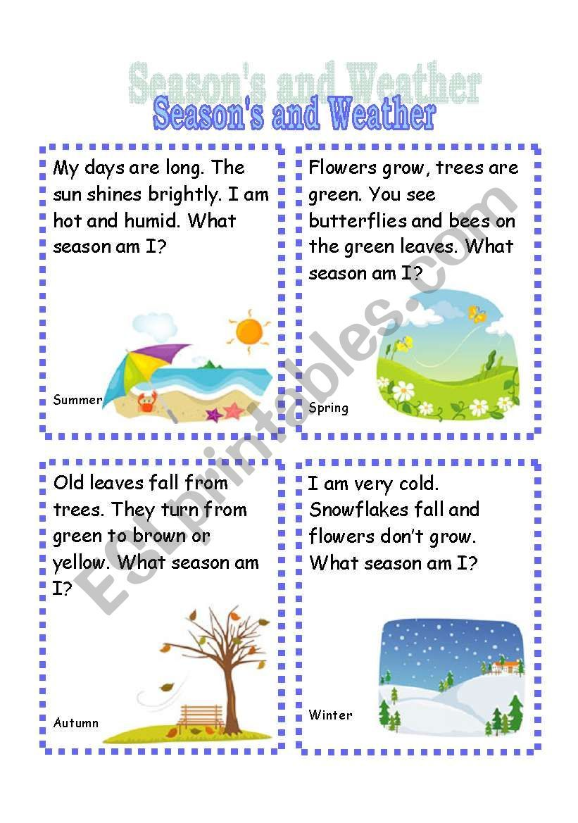 Riddles about seasons for preschoolers 19