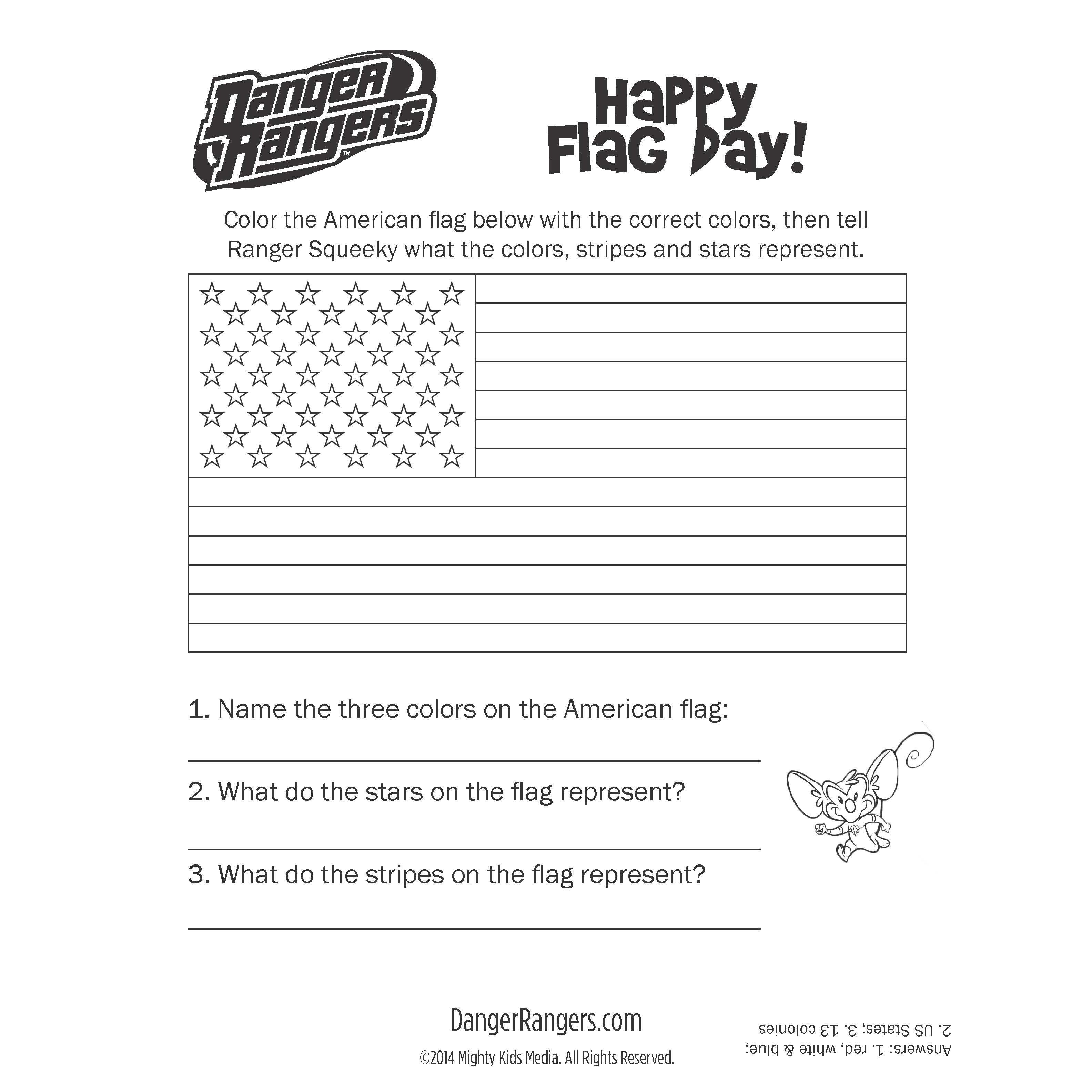 Flagday Activity Freeprintable