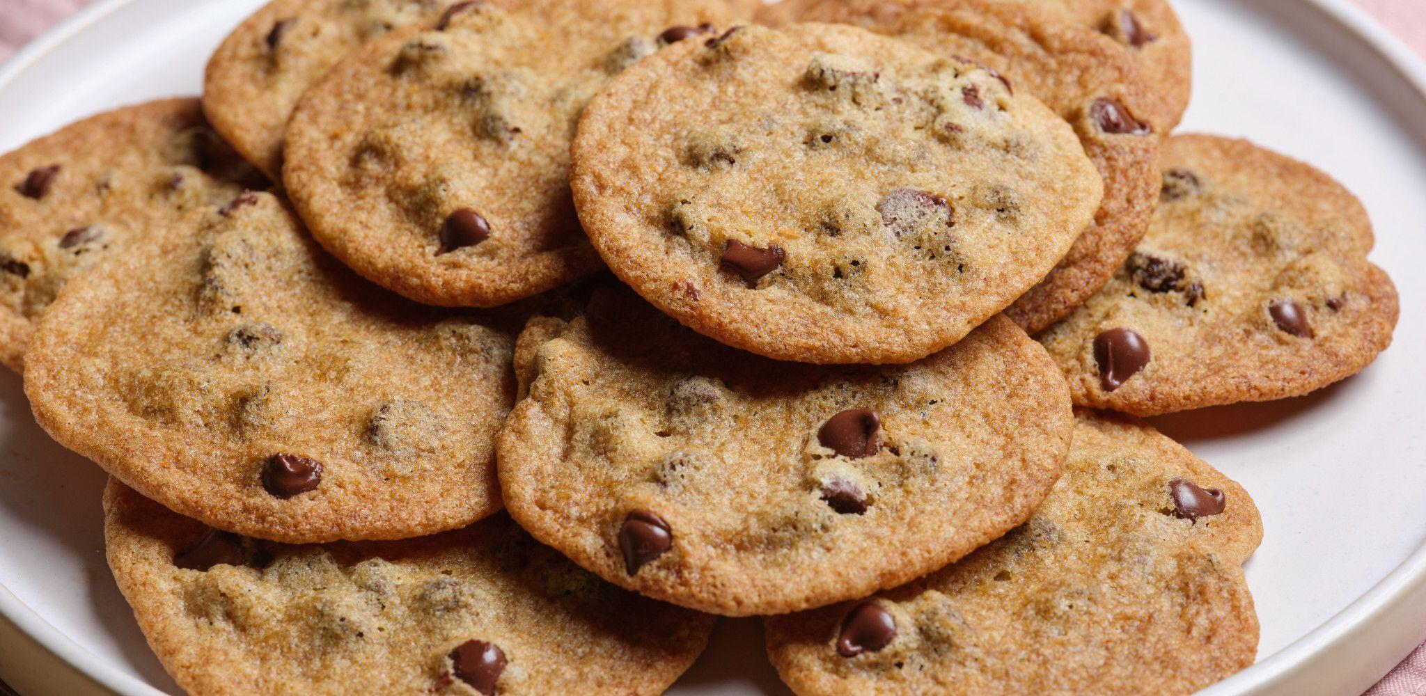 The Best Crispy Chocolate Chip Cookies | Recipe in 2020 ...