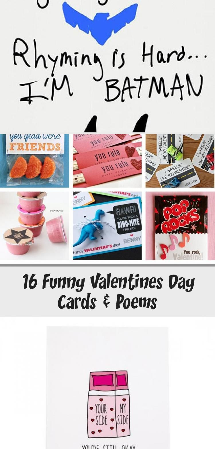 16 funny valentines day cards  poems  via make it and