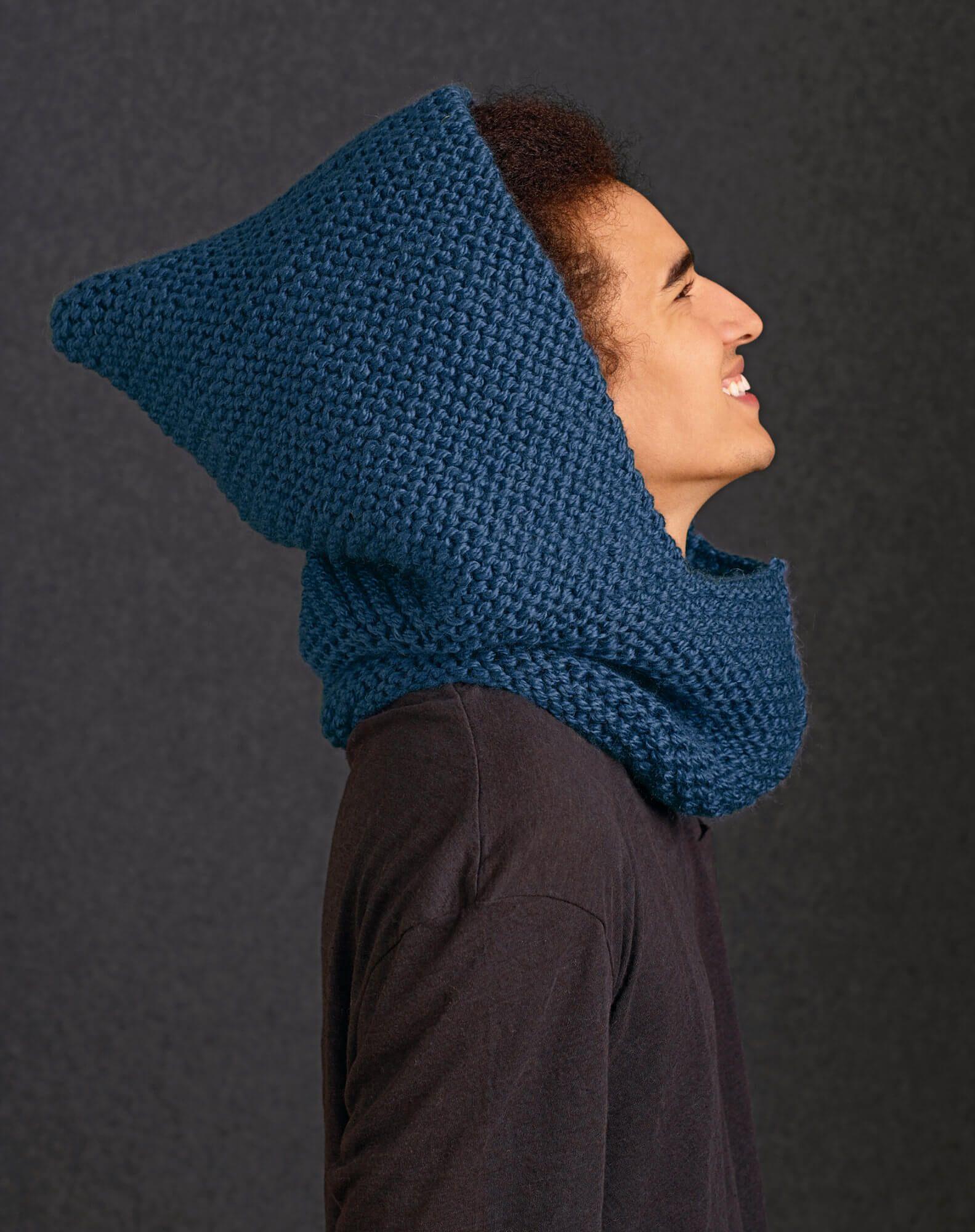 Scoodie Kapuzenschal Für Sie Und Ihn Crochet Wraps Stricken