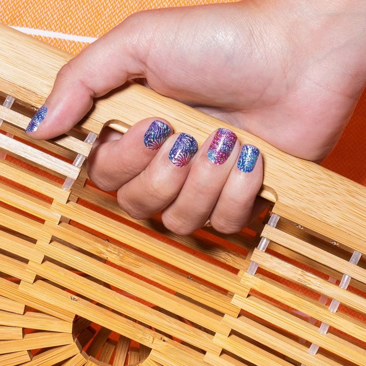 Happy Labor Day With Color Street Color Street Nails Nail Colors Cool Nail Art