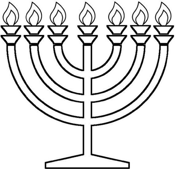 Hanukkah Coloring Pages Menorahs Hanukkah Crafts Menorah