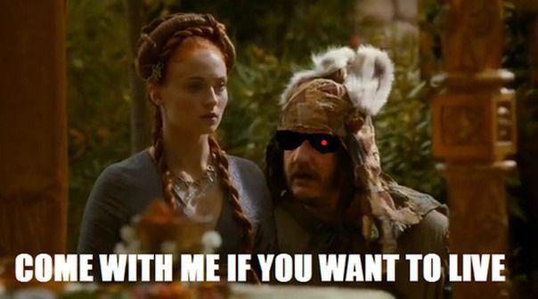7 Game Of Thrones Purple Wedding Memes And Gifs Sansa Stark