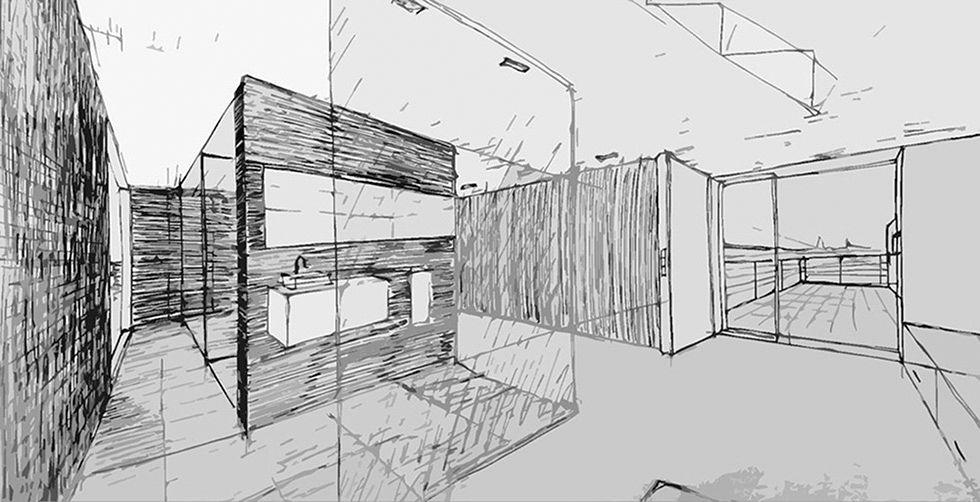 casa minimalista fontenay una casa con mucho color