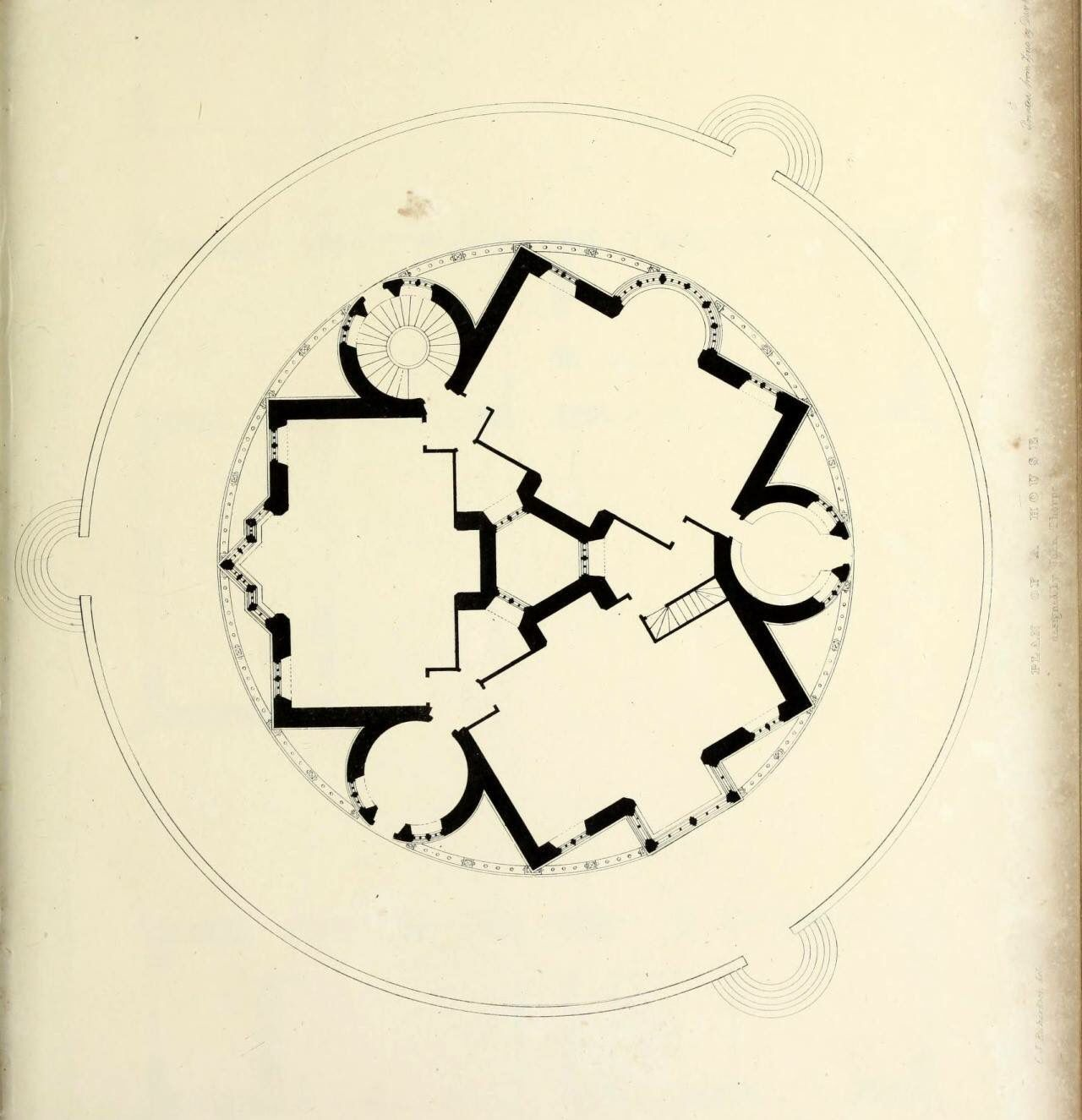 Circular house design by John Thorpe
