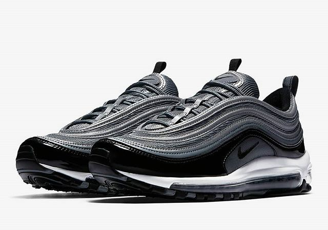 Air Max 97 Black Patent #stomperkicks #sneakers #kicks