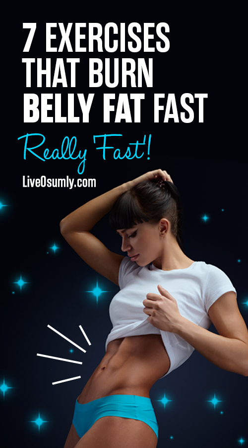 Want to get rid of that annoying belly fat? Here are the 7 effective workouts to lose belly fat for...
