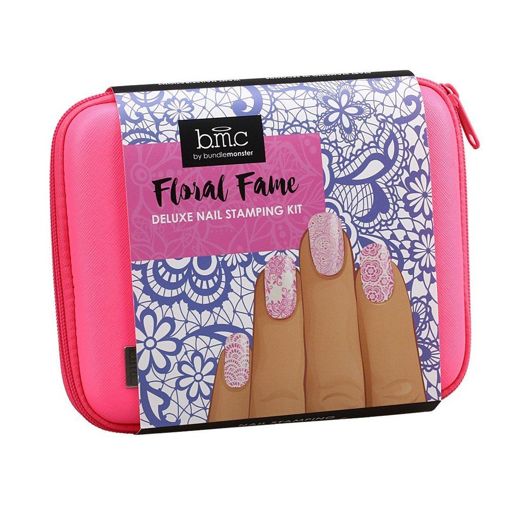 Floral Fame Deluxe Nail Stamping Kit Series   Deluxe nails and Manicure