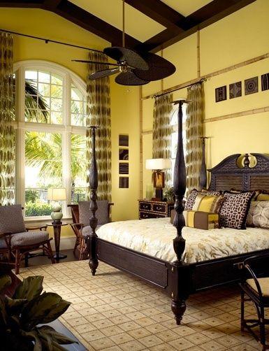 Tropical British Colonial Interiors British Colonial Bedroom