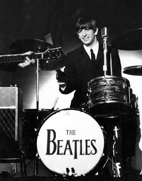 Ringo Starr Plays The Drums