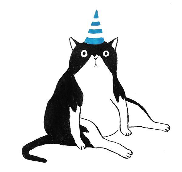 Mr Cat By Vier Yeh Via Behance Illustration Dyr Tegninger