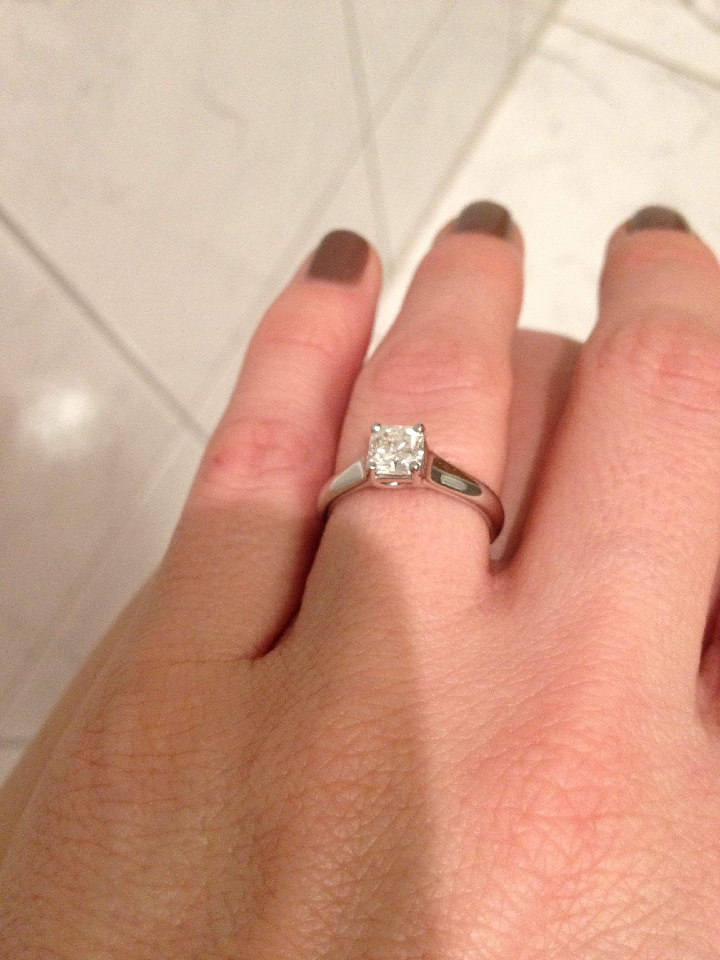 065074787 Tiffany's Lucida , platinum solitaire | Diamond | Engagement rings ...