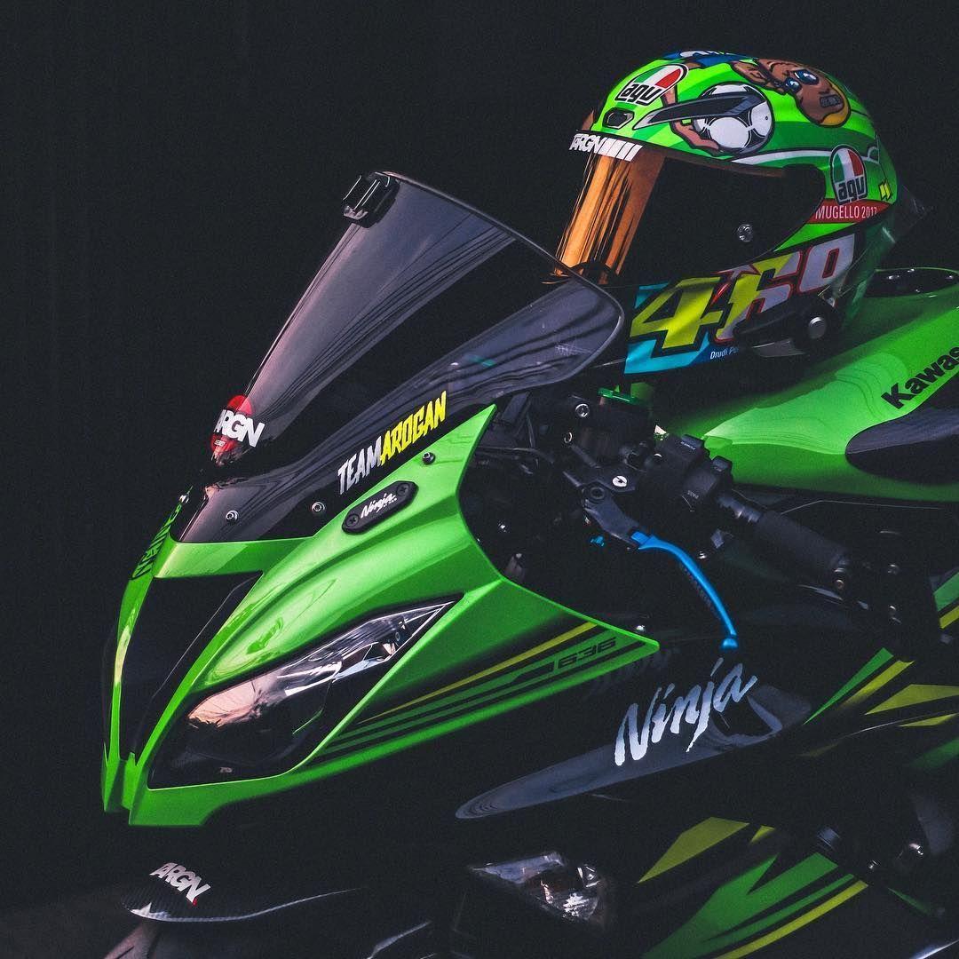 Wallpaper Sepeda Motor Ninja in 2020 Motorcycle