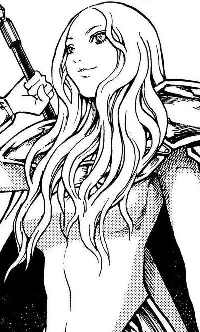 Claymore Teresa Manga