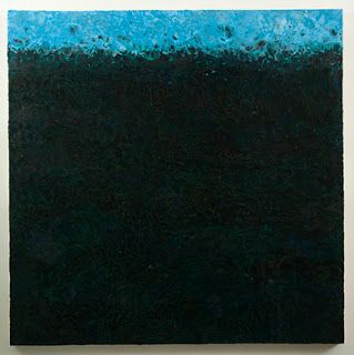 "Encaustic Artists International: ""in the Depths"", an Abstract, Encaustic Painting by Colorado Contemporary Artist, Susan M. Gibbons"