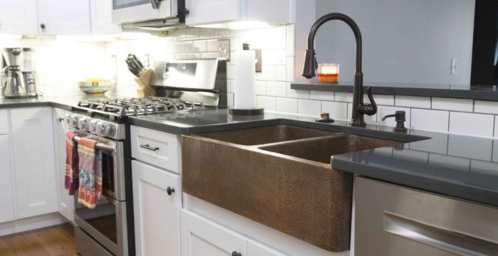 Kitchen and bathroom design tips and tricks from our copper sink experts at Sinkology.