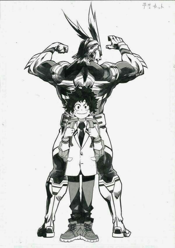 My Hero Academia 僕のヒーローアカデミア Izuku Midoriya All Might Deku Izuku Midoriya Anime