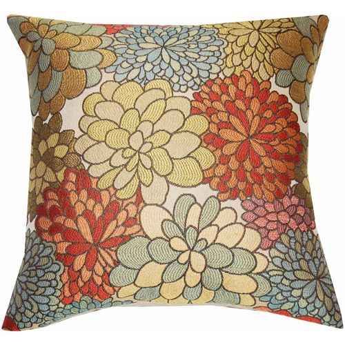 Walmart Pillow Inserts Fair Better Homes And Gardens Mumsfield Floral Decor Pillow $14  Home