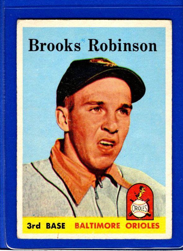 1958 Topps Set Break 307 Brooks Robinson EXEXMINT H13396