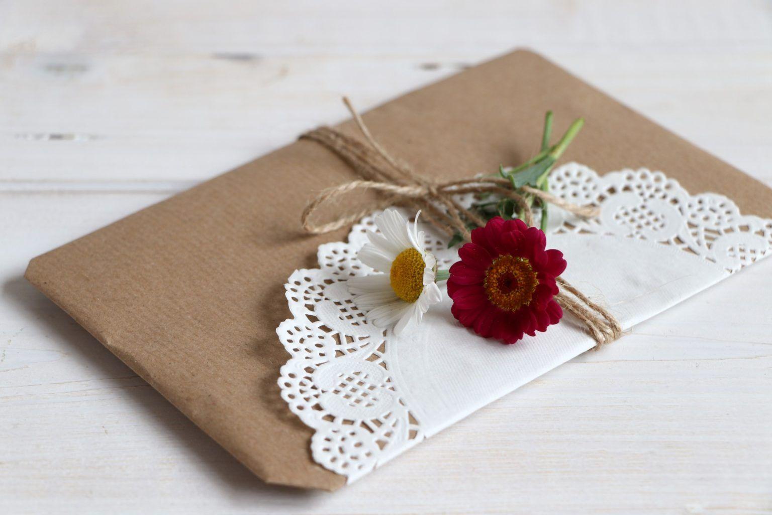 Packpapier: Geschenke kreativ verpacken - Lavendelblog