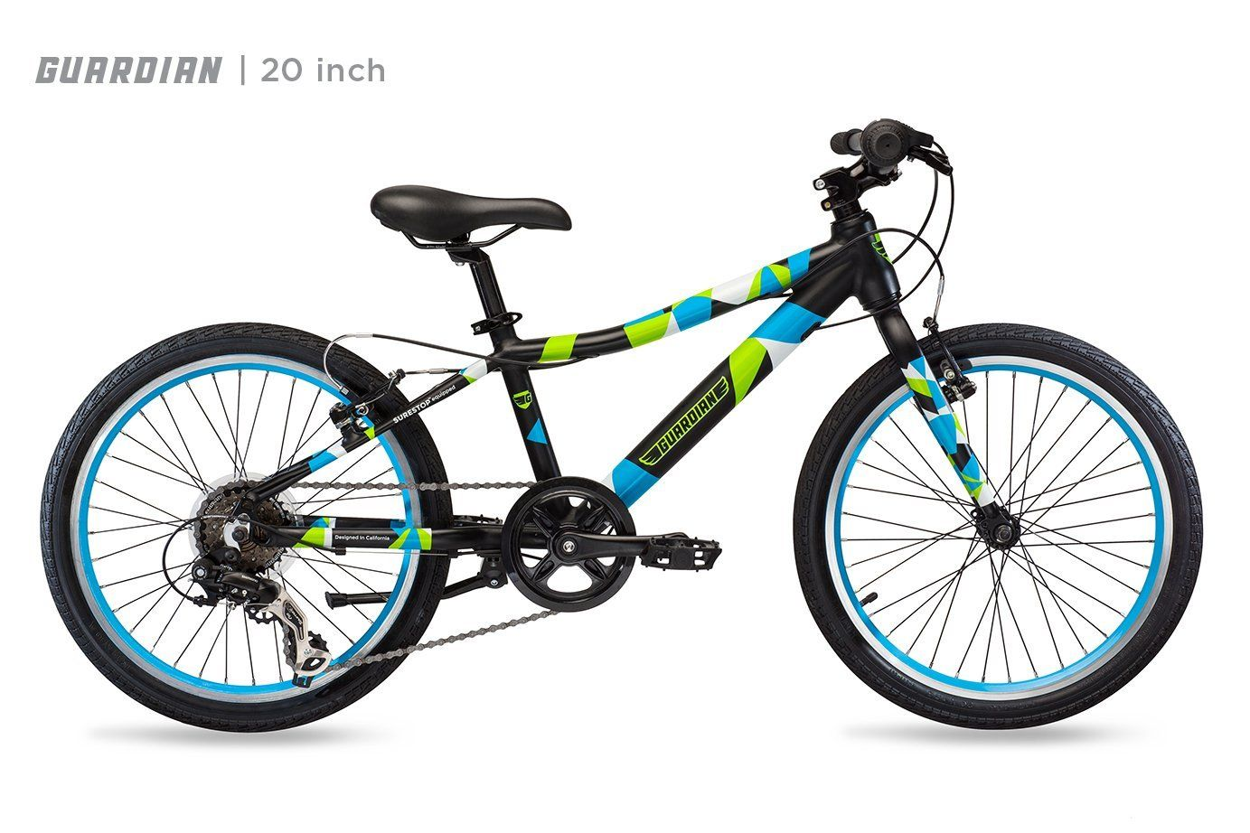 Guardian Lightweight Kids Bike 20 Inch And 24 Inch Safe Patented